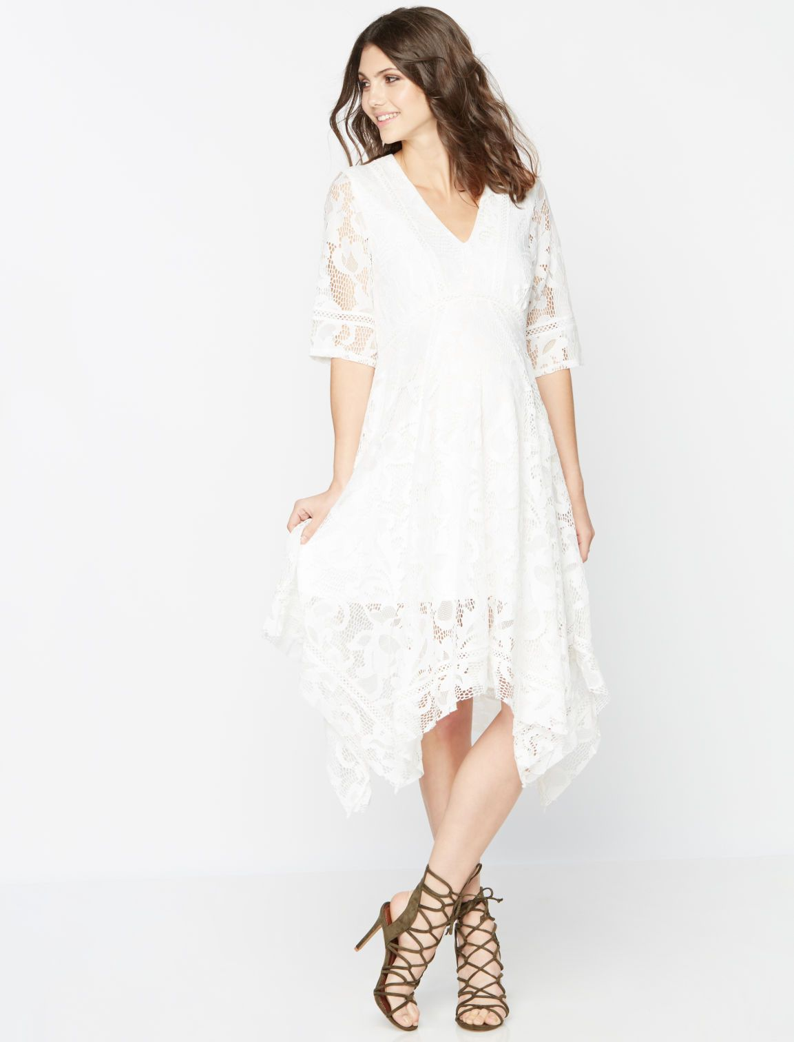 A pea in the pod taylor lace maternity dress maternity style a pea in the pod taylor lace maternity dress ombrellifo Images