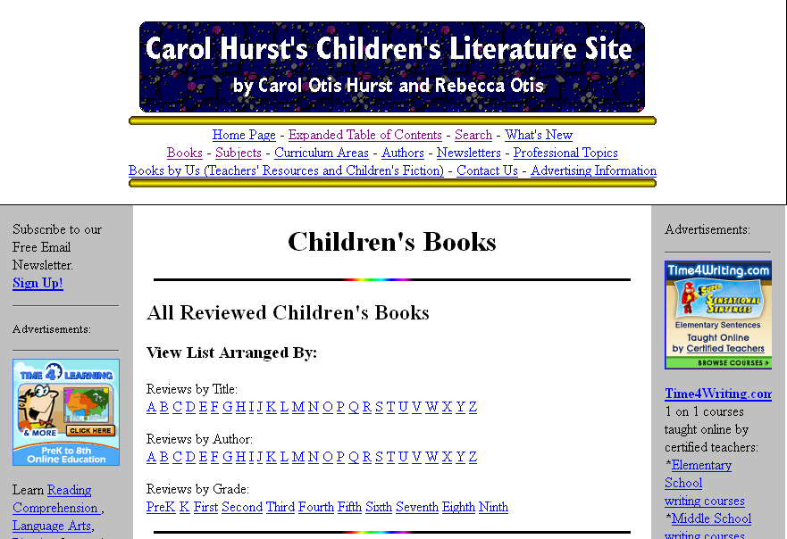 A Great Source For Selecting Children S Books To Match