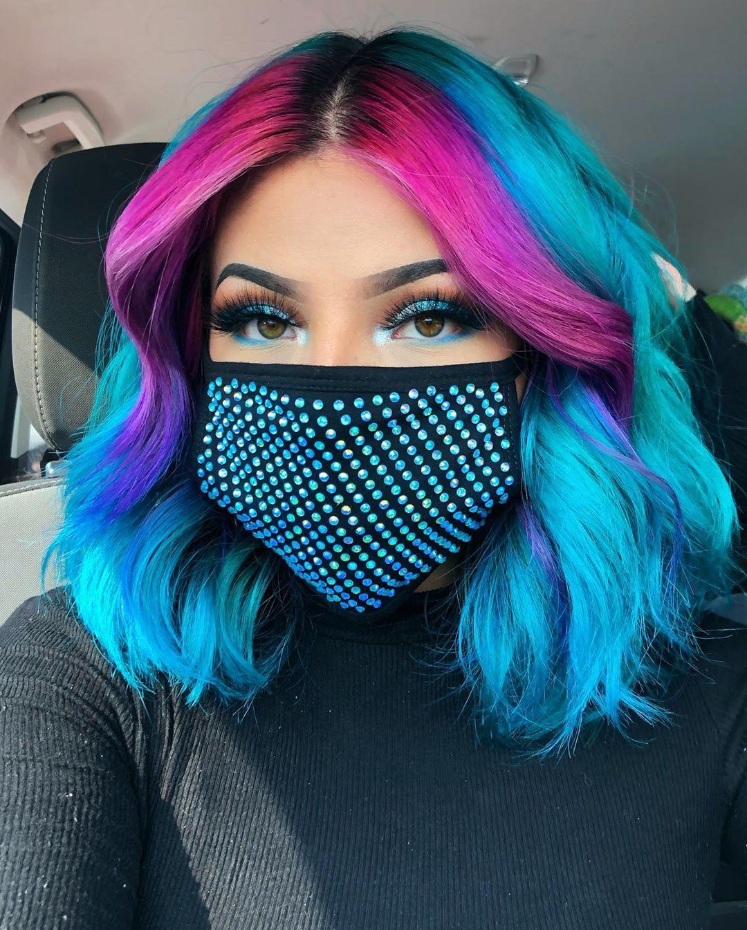 Arctic Fox Hair Color in 2020 | Cool hair color, Diy hair ...