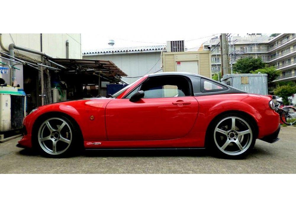 Garage Vary Nc Hardtop Fastback For Mx 5 Nc Rev9 Miata Miata Hardtop Mazda Miata