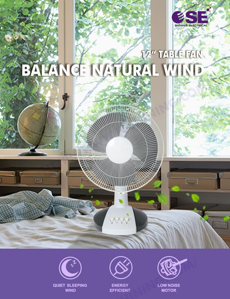 Electrical Liances 12 Pp As Blade Ultra Quiet Small Desk Fan Product On Alibaba
