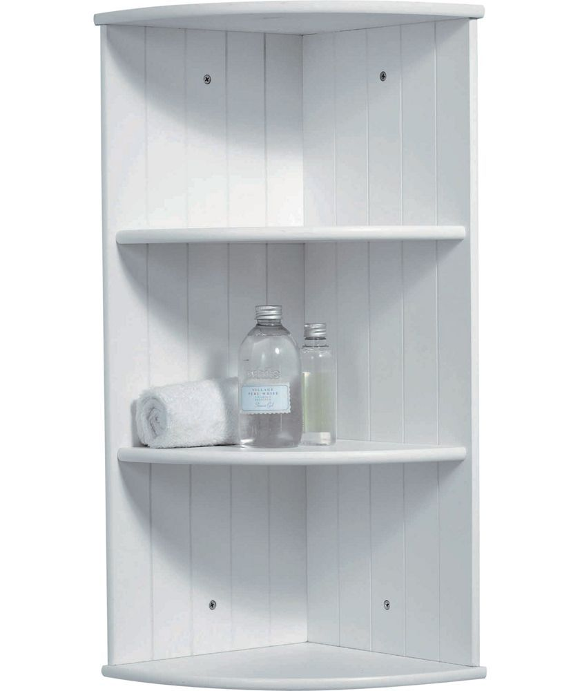 Tongue And Groove Corner Shelves White At Argos Co Uk Your Unit Bathroombathroom