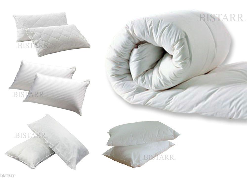 King /& Super King Size Bed 4.5 Duvet Quilt Single Double 13.5 /& 15 TOG 10.5