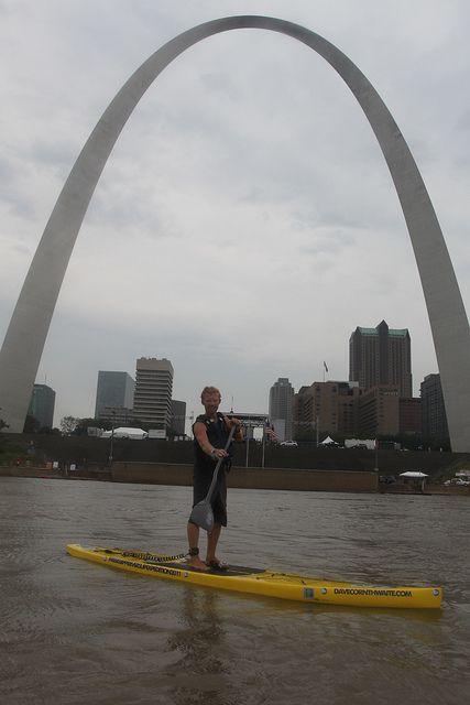 SUP Mississippi River - Stand Up Paddleboard - davecornthwaite.com