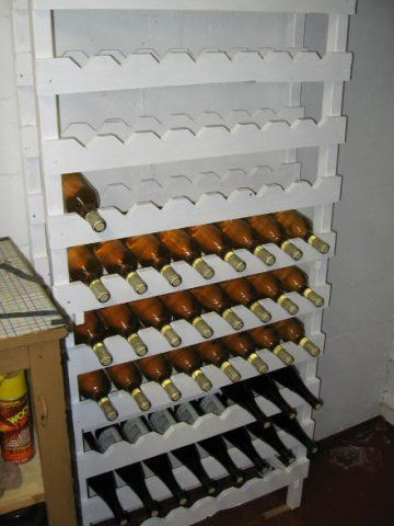 Wine Rack plans Wine rack plans, Rustic wine racks