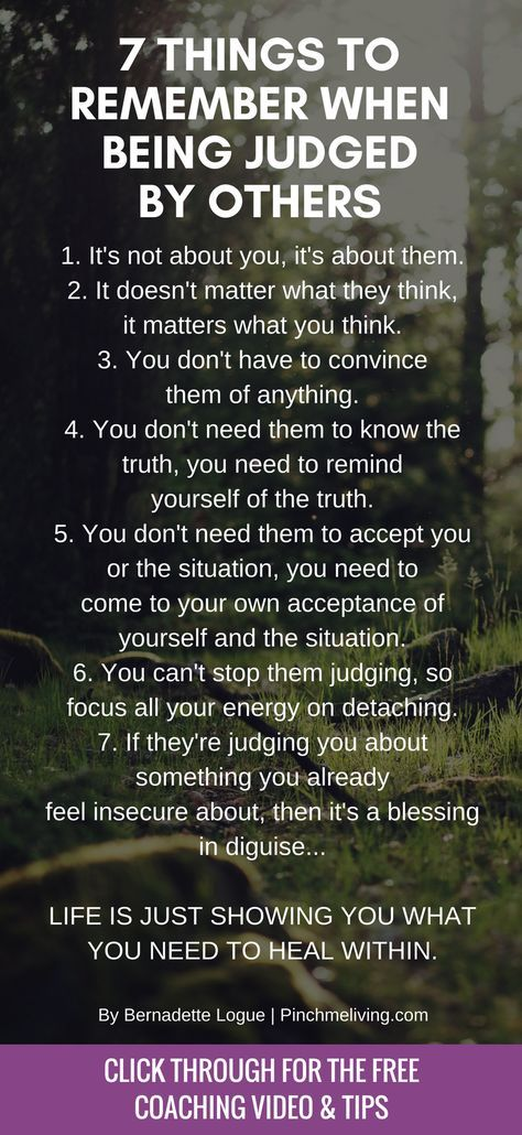 Being Judged by Others? Here's How to Deal with It!