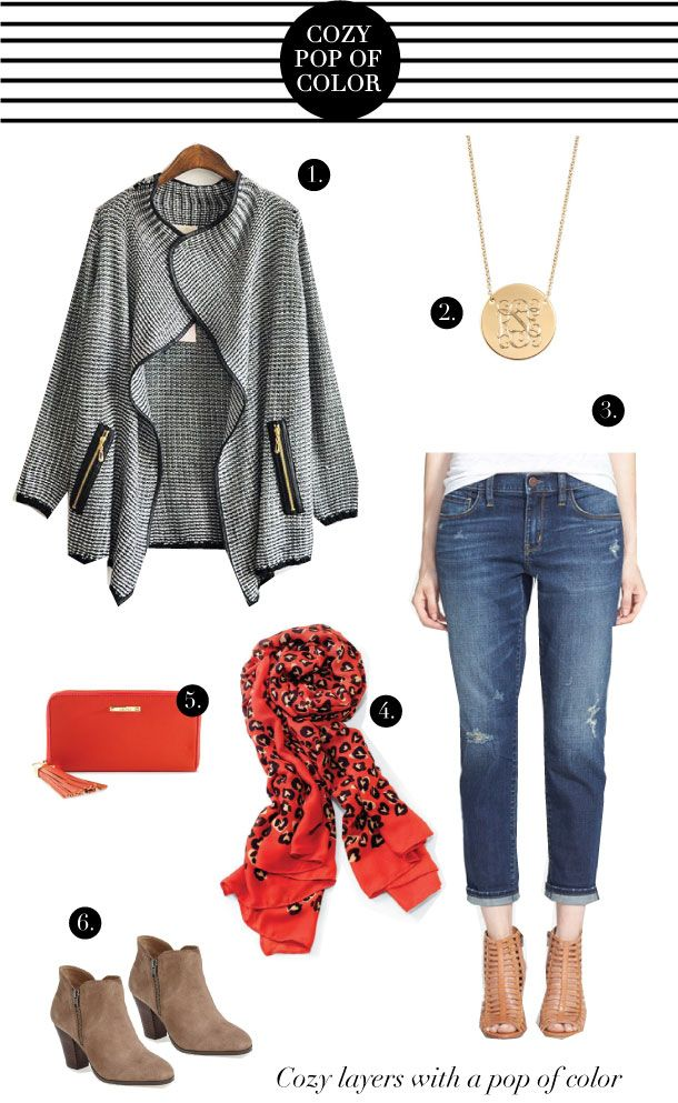 Style for a Steal: Cozy Fall Look