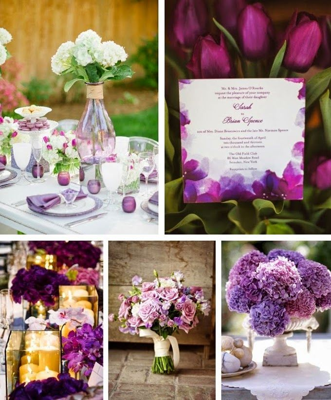 My Wedding Reception Ideas Blog: Unique Color Inspiration
