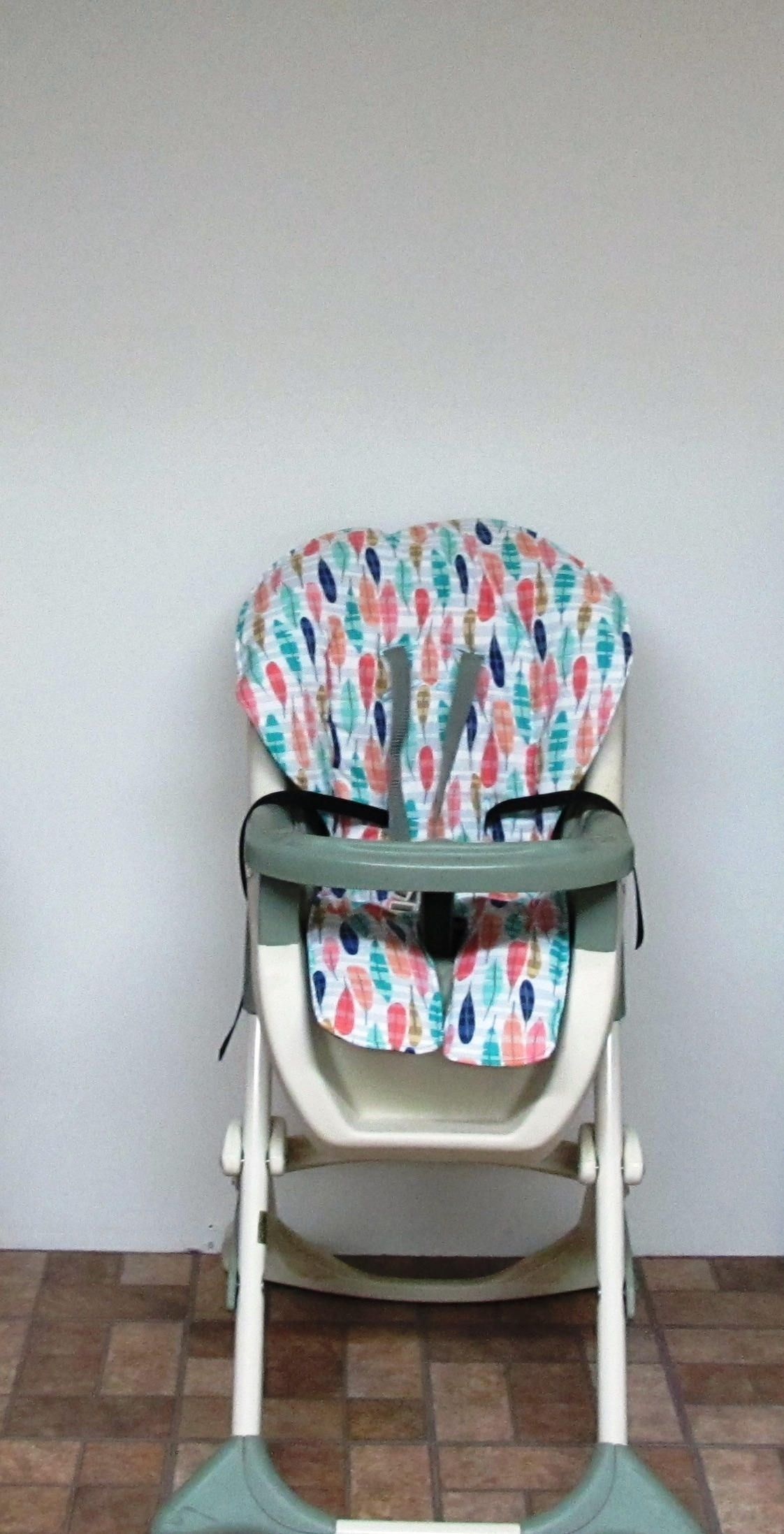 Graco Custom High Chair Cover, Replacement Baby Chair Pad, Baby Accessory Chair  Cushion,