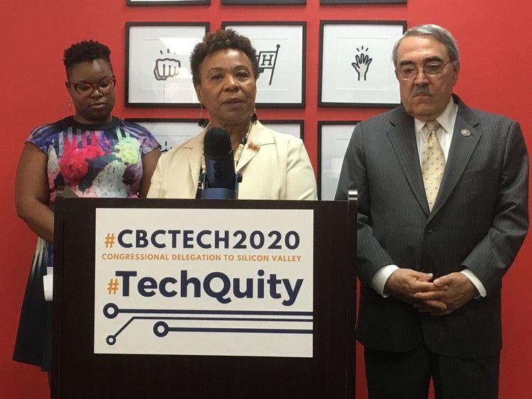 Black members of congress push for more diversity in
