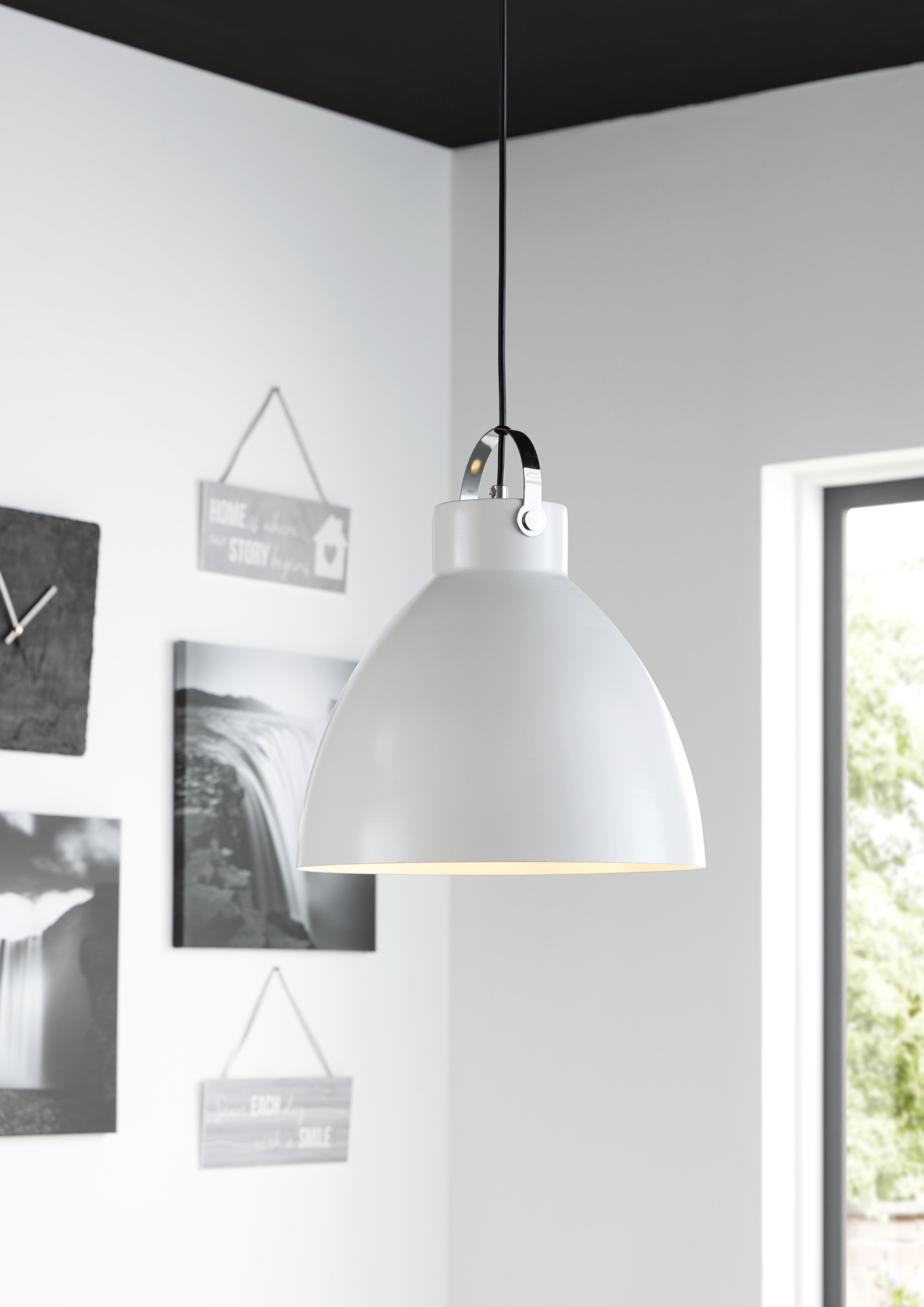 Innenarchitektur wohnzimmer lila tibbon white pendant ceiling light