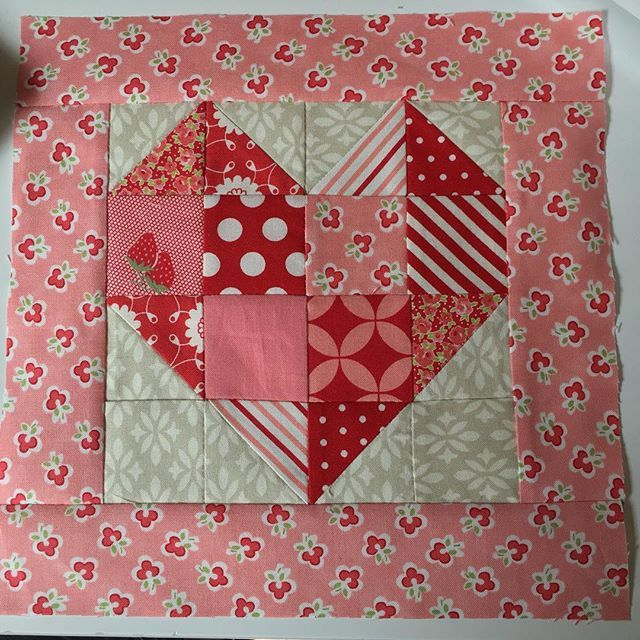 Loved making this block!  Can't wait to see the finished quilt. #sendinglovequilt