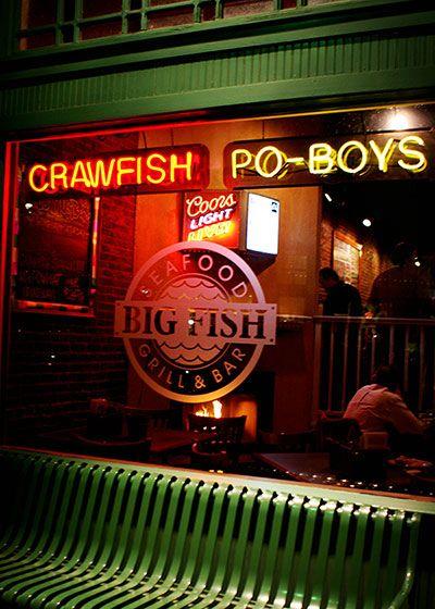Big Fish Seafood Grill Bar In Grapevine Good Crawfish Seafood