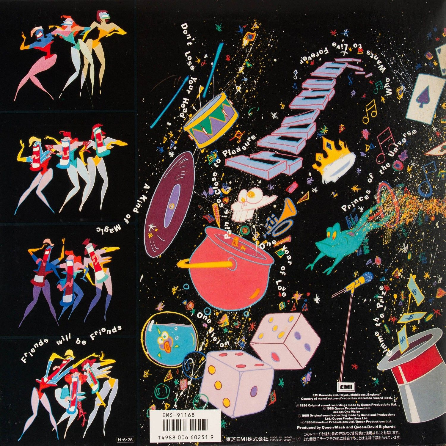 Album Art By Roger Chiasson For Queen S A Kind Of Magic 1986 A Kind Of Magic Album Art Artist Inspiration