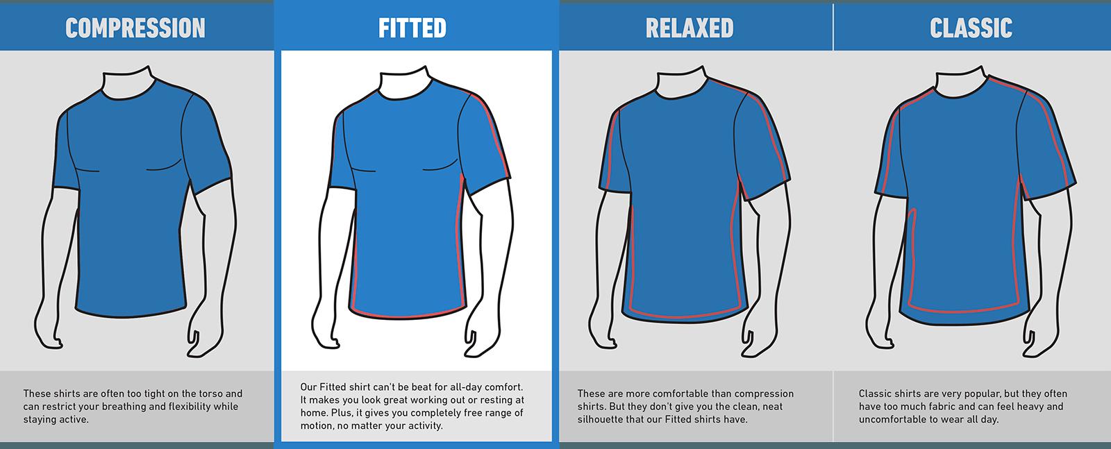 Men S Cooling Crew Neck Shirt Cool Shirts Gym Wear For Women