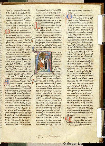 Lancelot du Lac, MS M.805 fol. 50r - Images from Medieval and Renaissance Manuscripts - The Morgan Library & Museum