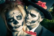 stock-photo-26847784-day-of-the-dead-couple-in-traditional-costumes-and-makeup.jpg (190×126)