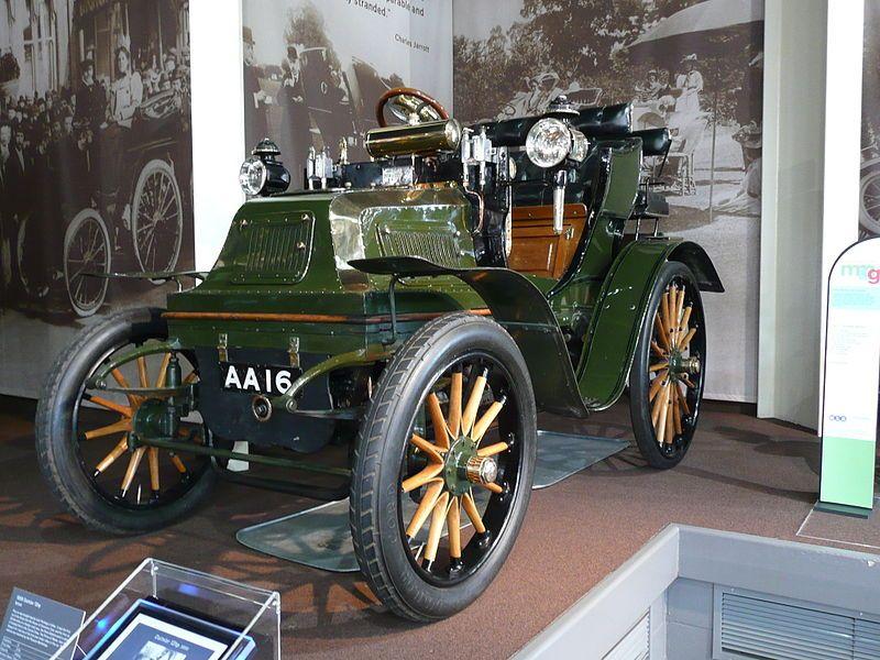 1899 Daimler 12 HP, National Motor Museum in Beaulieu Car
