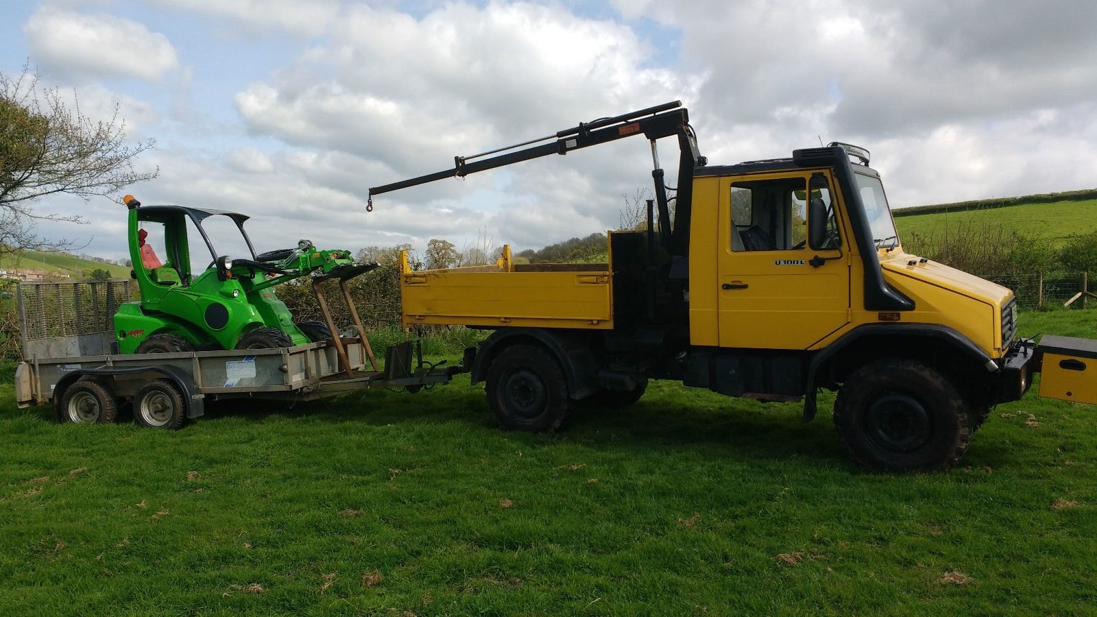 Plus ifor williams 10x6 plant trailer for sale is my very handy 1996 unimog u100l