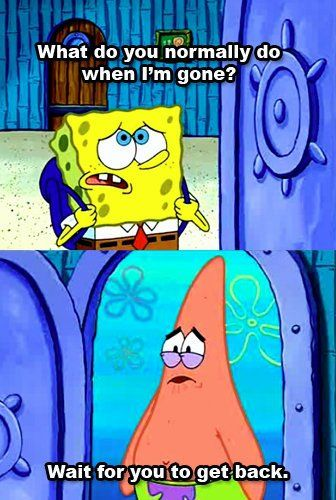 Spongebob & Patrick will be best friends forever