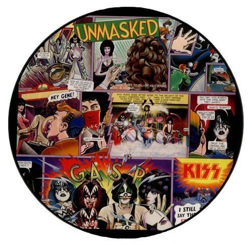 Kiss Unmasked Picture Disc Special Limited Edition Kiss Album