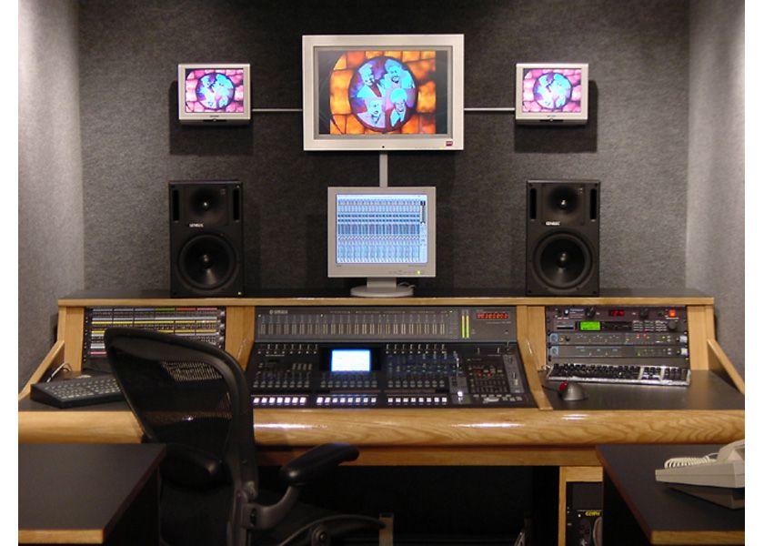 Recording   On-Air Studio Furniture home studios Pinterest - photo editor job description