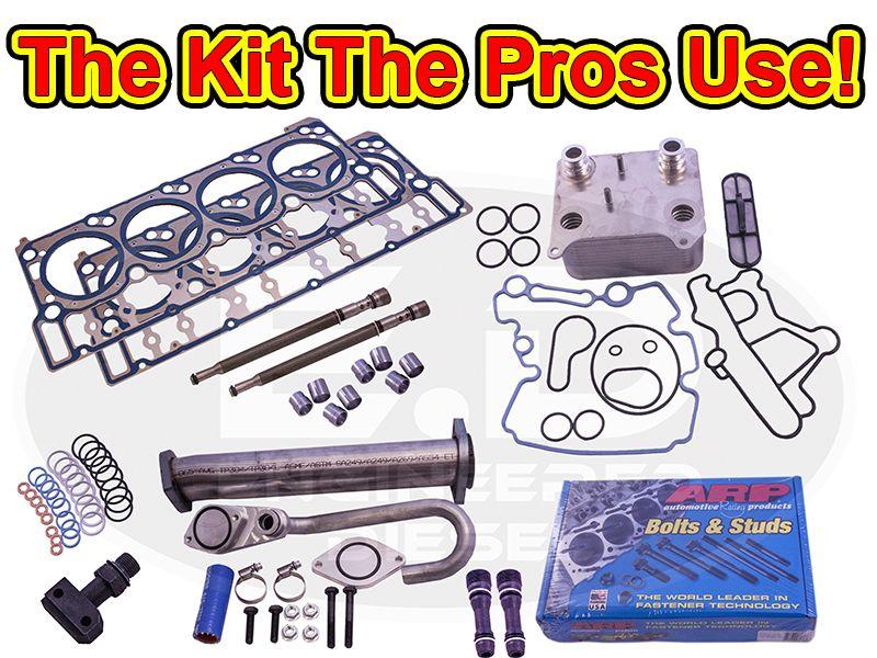 6 0l Powerstroke Head Gasket Kit Premium Oem Arp Powerstroke Diesel Performance Kit