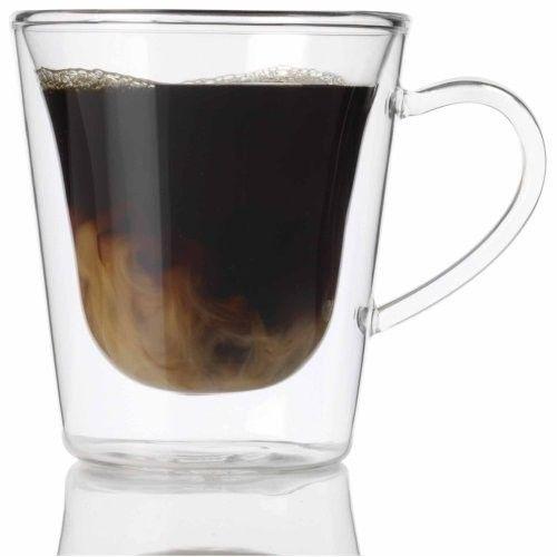 Duos Filizanki Kubki Termiczne 29 5 Cl Szklane 2806546320 Oficjalne Archiwum Allegro Glass Coffee Cups Glassware Luigi Bormioli