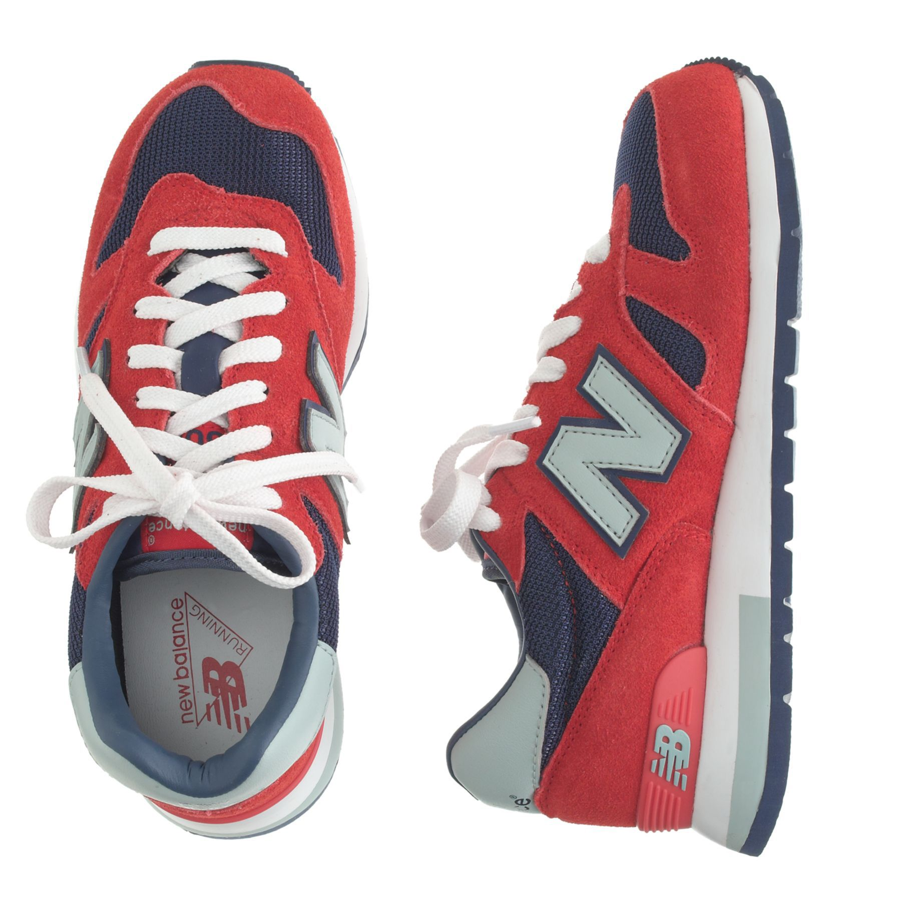 Kids' New Balance® for crewcuts K1300 lace-up sneakers in flame ...