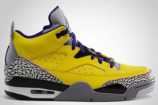 low priced 5454b e74bf Jordan Son of Mars Low Tour Yellow