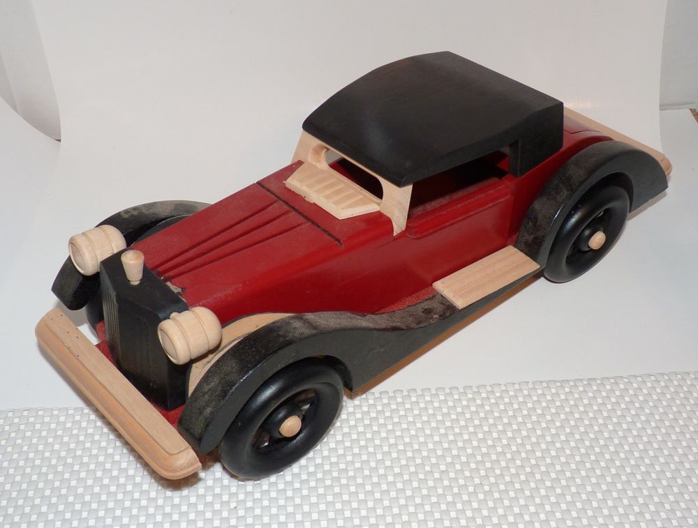 Classic Car Wooden Art Collection 1935 Auburn 851 Sc 15 1 2 X 5 1 4 Kit Wooden Art Car Classic Cars