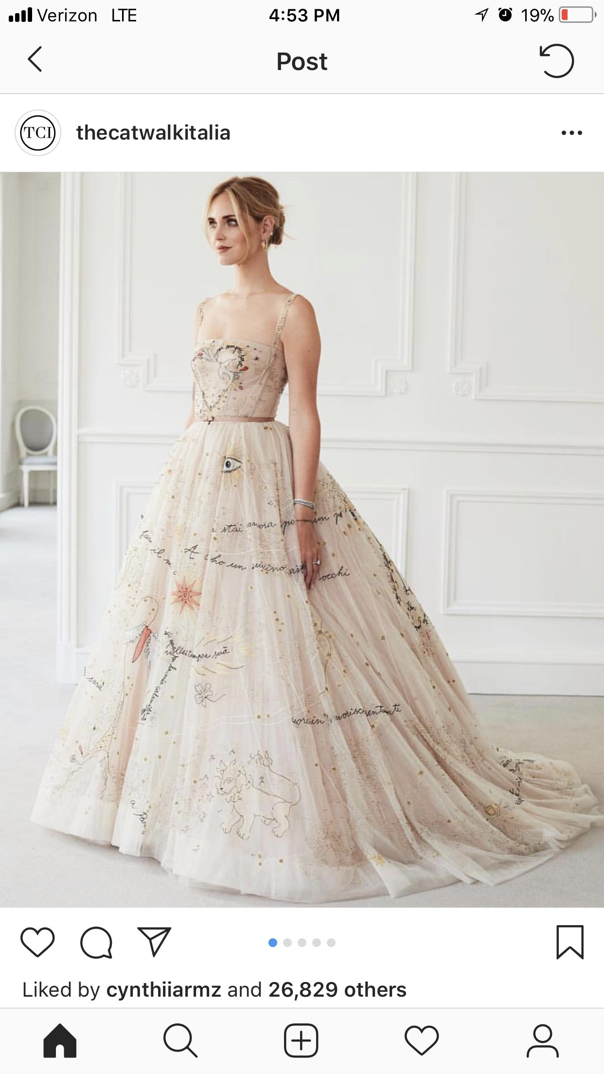 Dior wedding dresses  Chiara Dior wedding dress  Wedding  Pinterest  Dior wedding