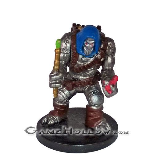 Wotc Warforged Artificer 02 Heroes Series 2 Dd Miniatures Rpg