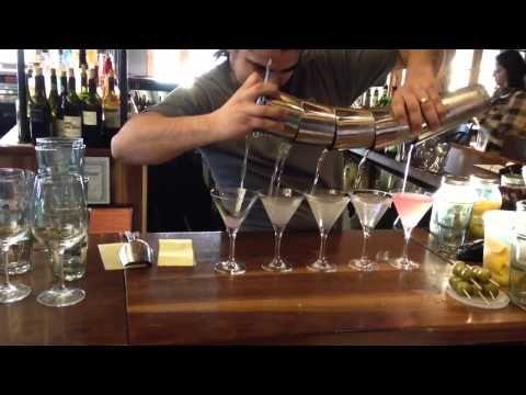 Trick Bartending At Rivermarket Bar And Kitchen In Tarrytown