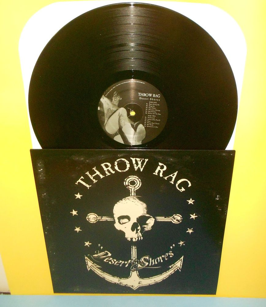 Throw Rag Desert Shores Lp Record Vinyl Byo Records Punkpunknewwave Vinyl Vinyl Record Album Record Store