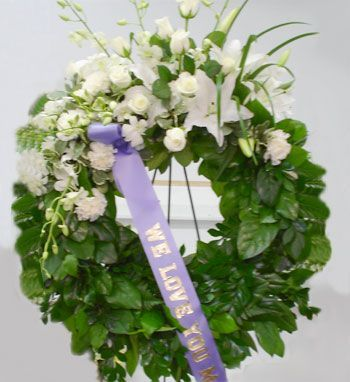 Funeral Wreath Ribbon Messages Google Search For Stacy Wreaths