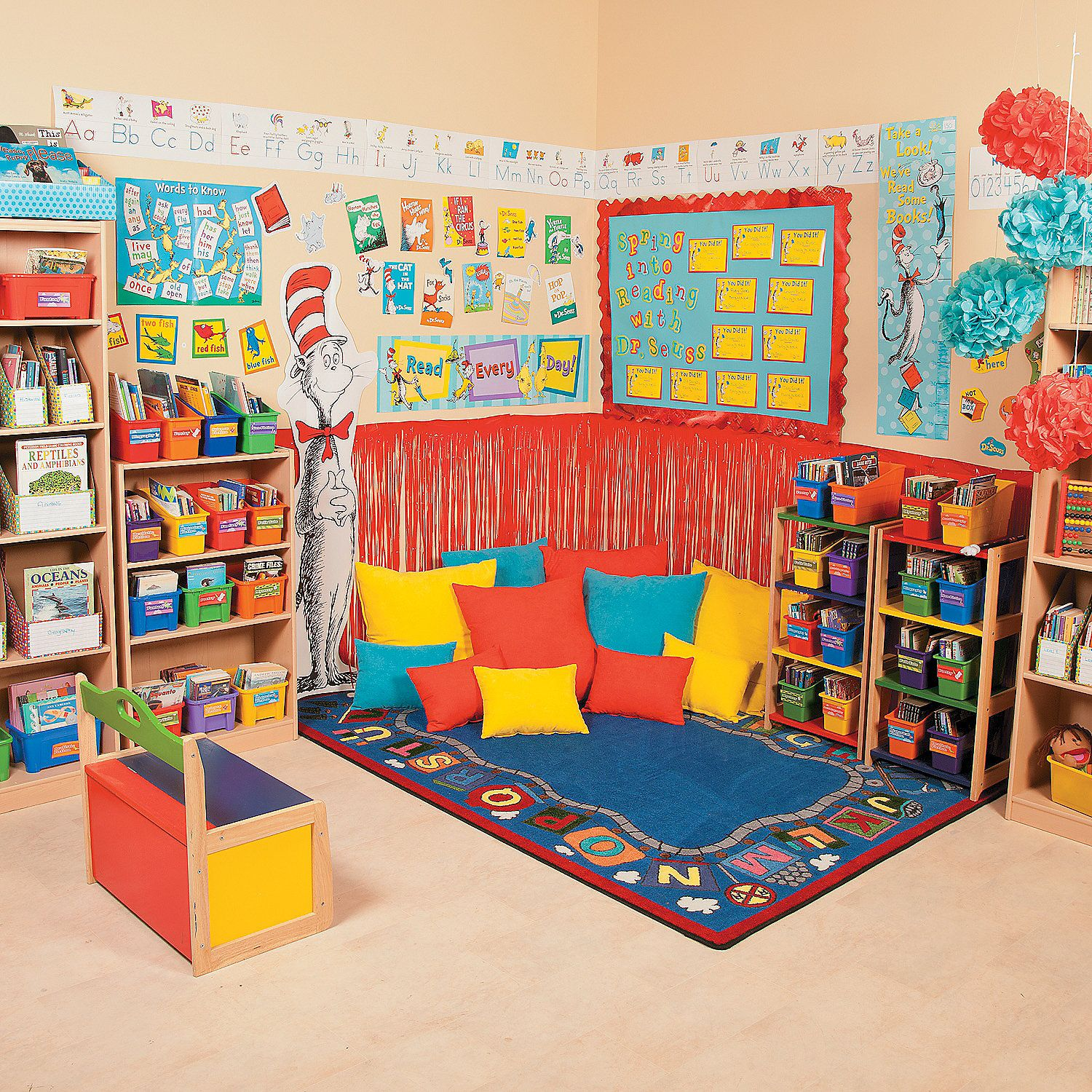 Dr Seuss Reading Corner Merchandise Available From Oriental