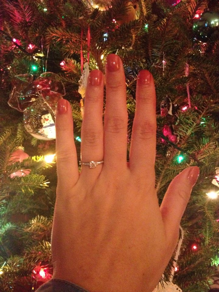 Christmas engagement