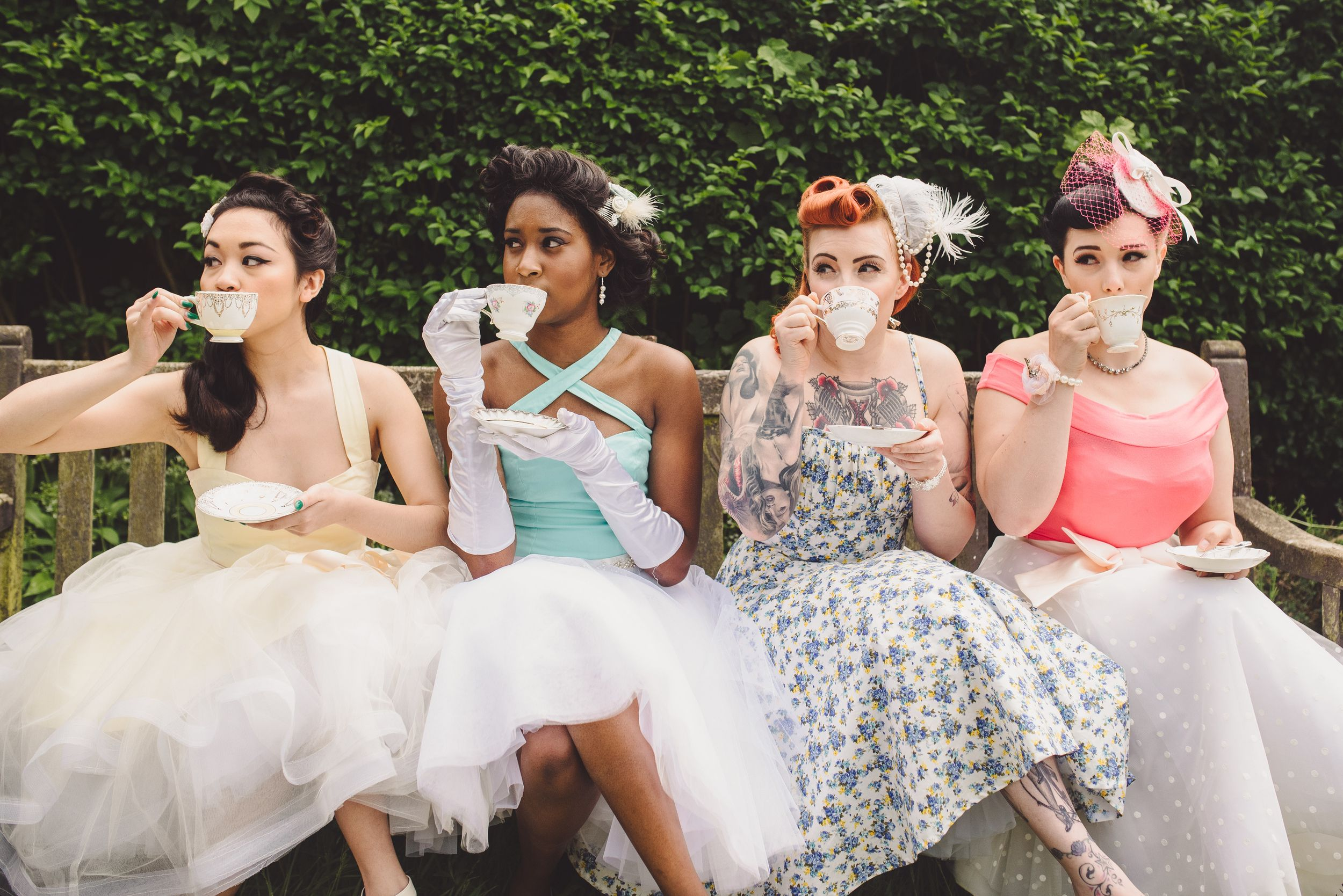 Rockabilly Bride — And So To Wed - handmade wedding blog magazine