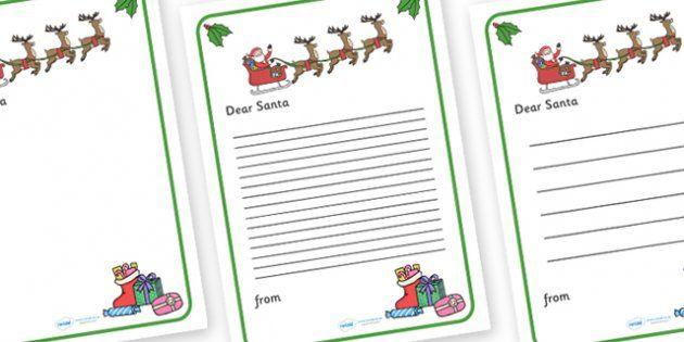 Letter to santa christmas xmas letter santa present father letter to santa christmas xmas letter santa present father christmas spiritdancerdesigns Images