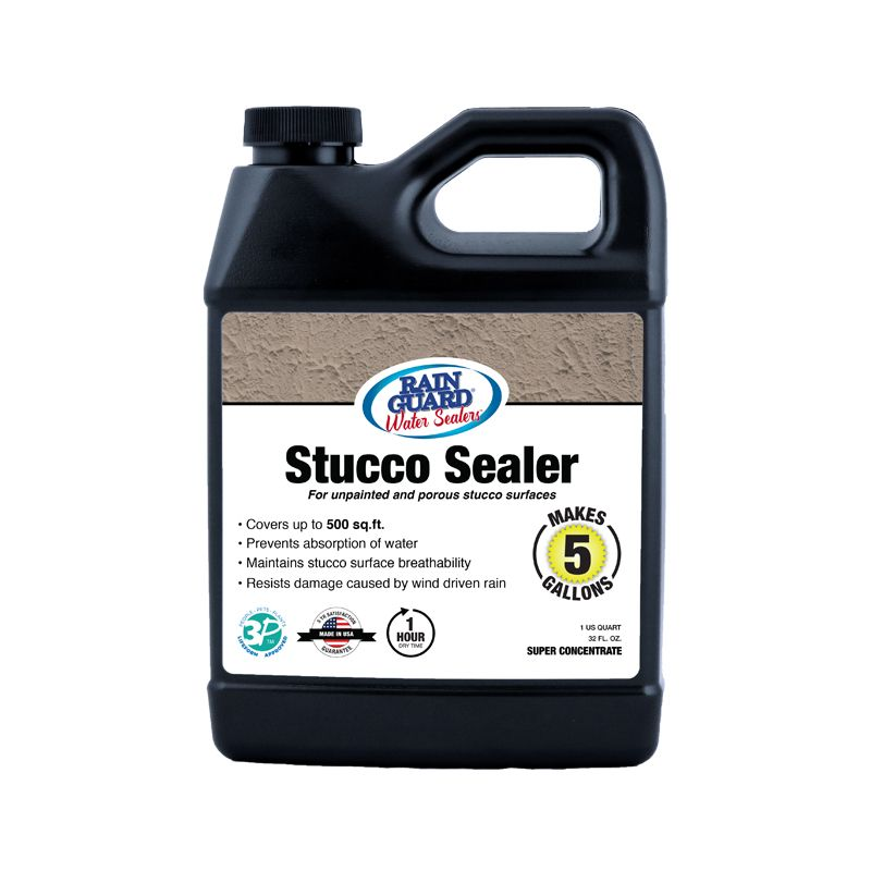 Protect Your Home From Mold And Mildew Premium Grade Stucco Sealer Seals And Protects Your Home From Moisture Damage Concrete Sealer Wood Sealer Brick Sealer