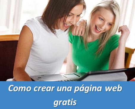 Como crear una página web gratis « Widgets y Plugins para Blogger