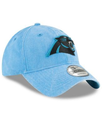 timeless design fa013 8e1db New Era Carolina Panthers Italian Washed 9TWENTY Cap - Black Adjustable