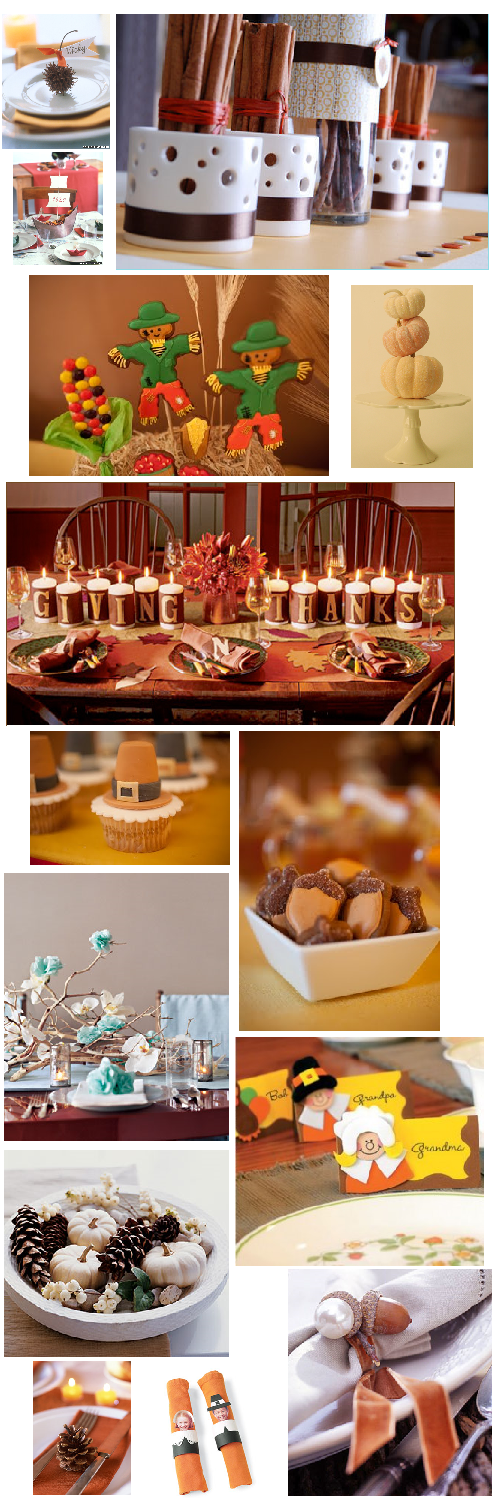 A Few Cute Thanksgiving Ideas Tis The Season Pinterest