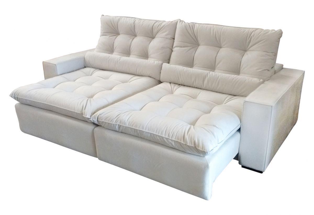 Sofá Retrátil E Reclinável Super Macio Angel Pillow Top Sofa Pillows Beds Woodworking