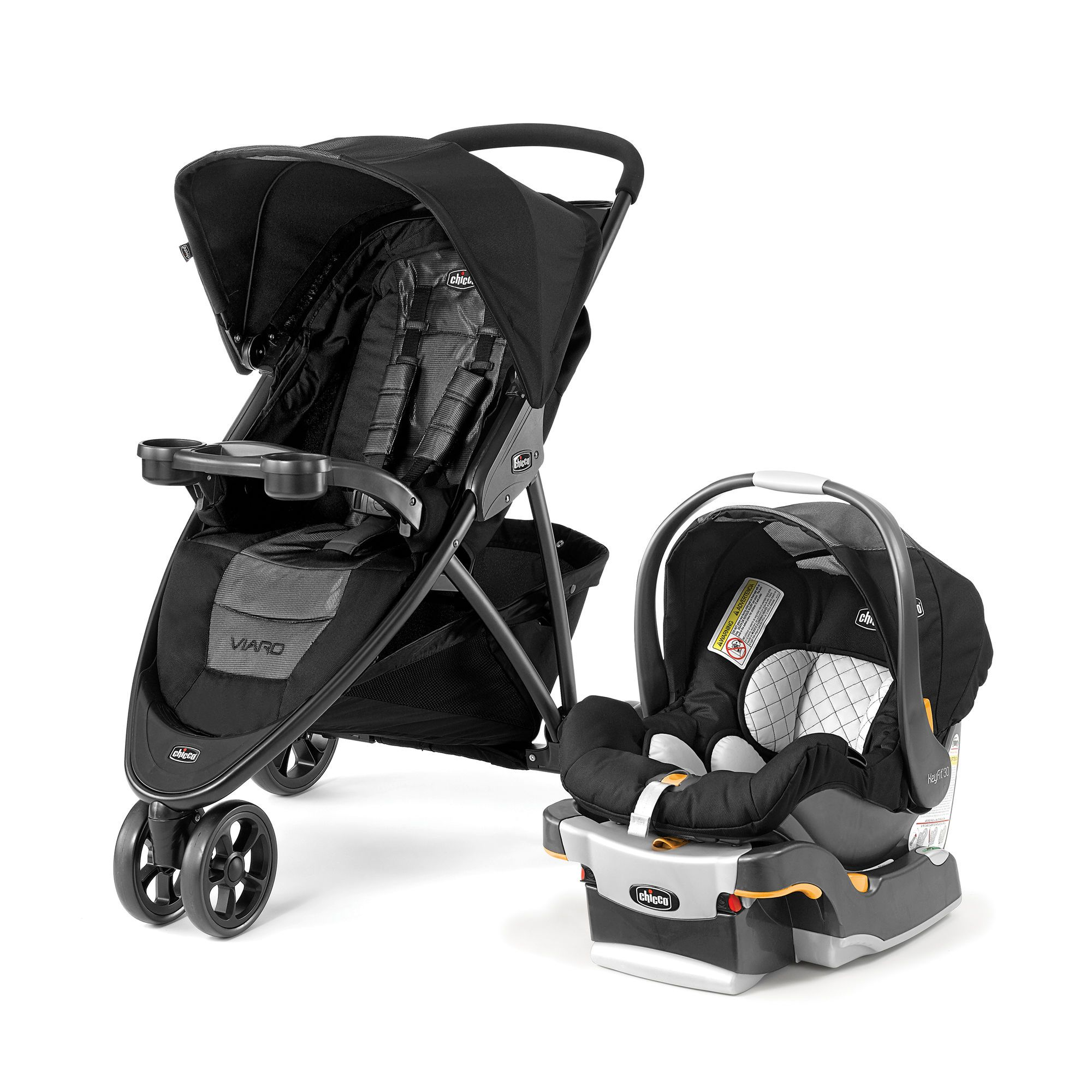 Viaro QuickFold Travel System Apex Travel system, Car