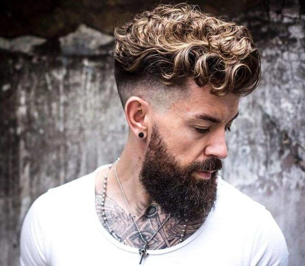 Peinados Pelo Rizado Hombre 2018