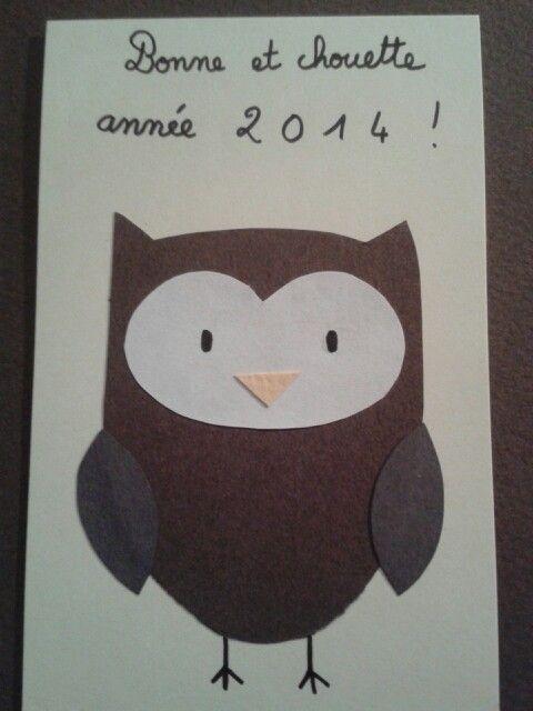 Chouette année à vous !!
