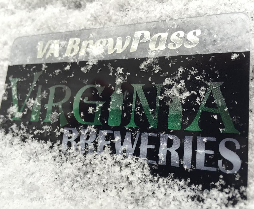 """In honor of #snowmageddon2016 get a """"snowman"""" discount of $8 on your #VABrewPass purchase! Use the link in our Instagram bio. Offer valid until end of day 1/24! #cheers #besafe #vabeer"""
