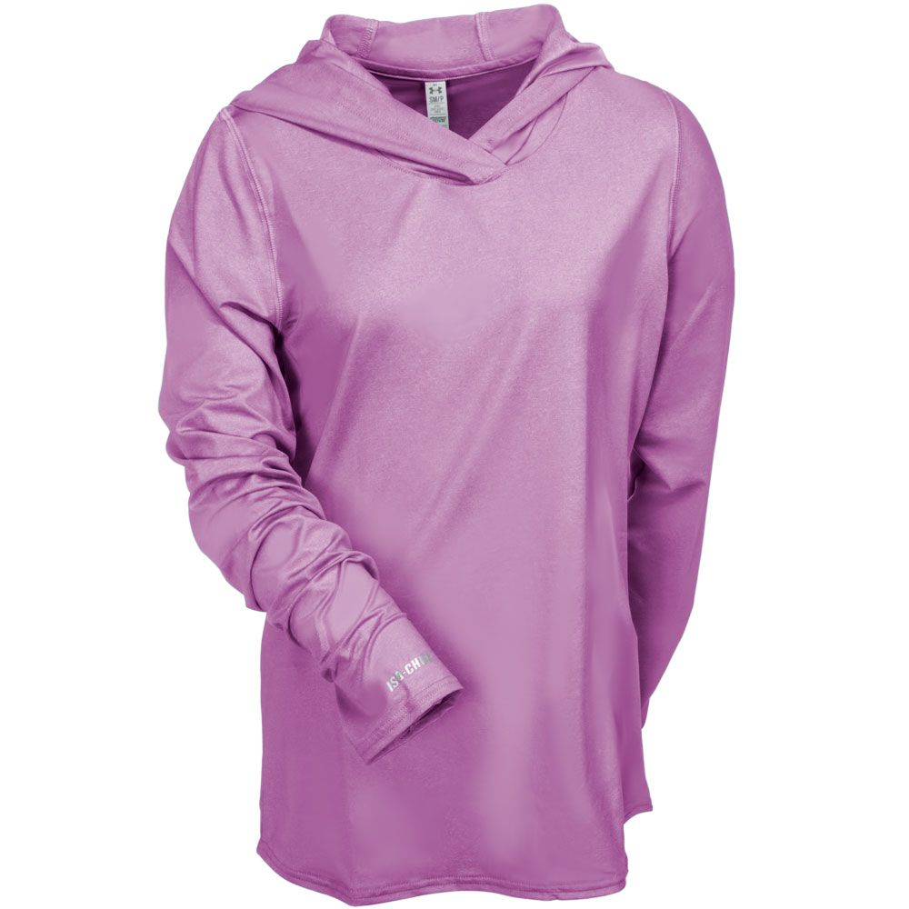 7d44026db9 Under Armour Women's 1257904 696 Iso Chill Dayz Hooded Sweatshirt ...
